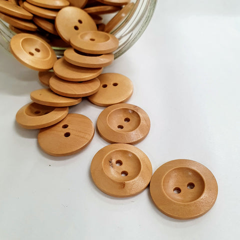 Buttons - Wooden - Large - 23mm