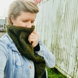Pattern // Annie Scarf - Mohair Knit Edition