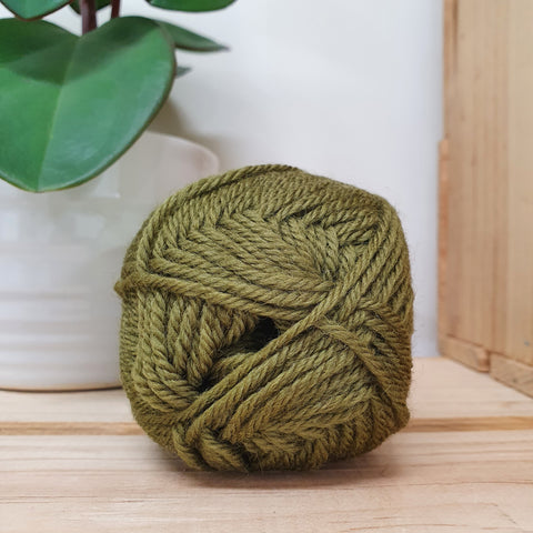 Yarn | Loyal - 8ply - 100% Wool - Moss