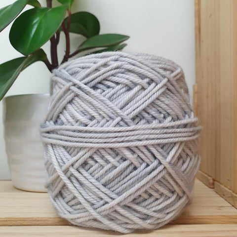 Yarn | Let Them Knit - 14ply Merino - Cloud