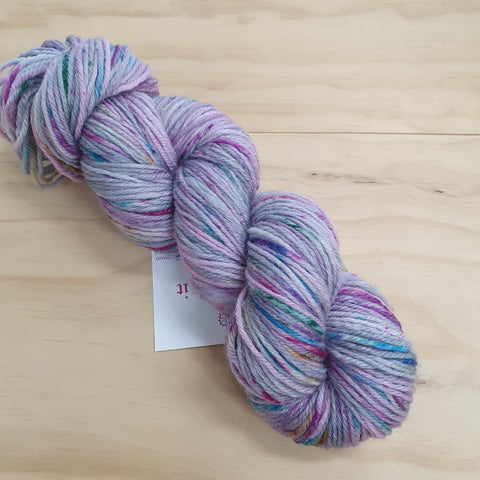 Yarn | Let Them Knit - 8ply Corriedale - Berry Speckles