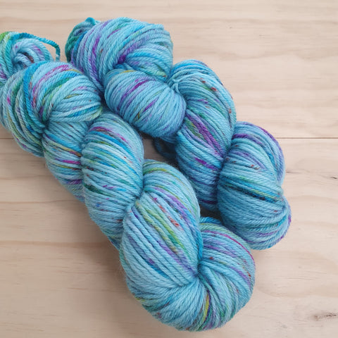 Yarn | Let Them Knit - 8ply Corriedale - Goody Gum Drops (Dark)