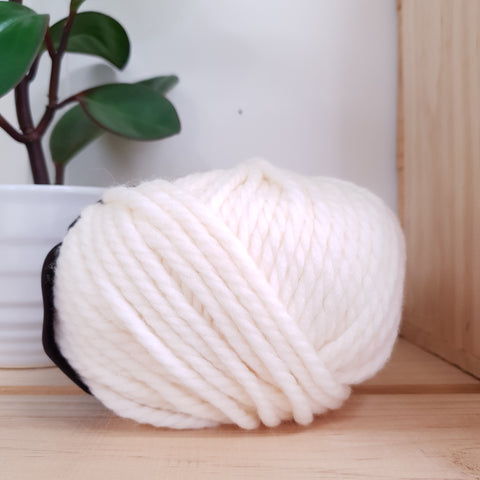 Yarn | Rowan Big Wool - White Hot (001)