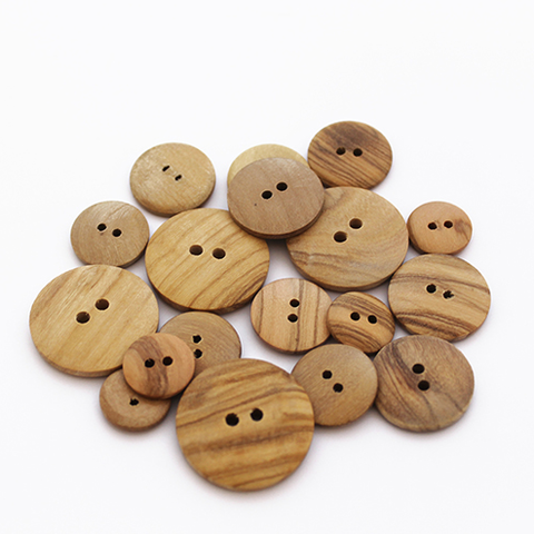 Buttons - Wood - Small - 15mm