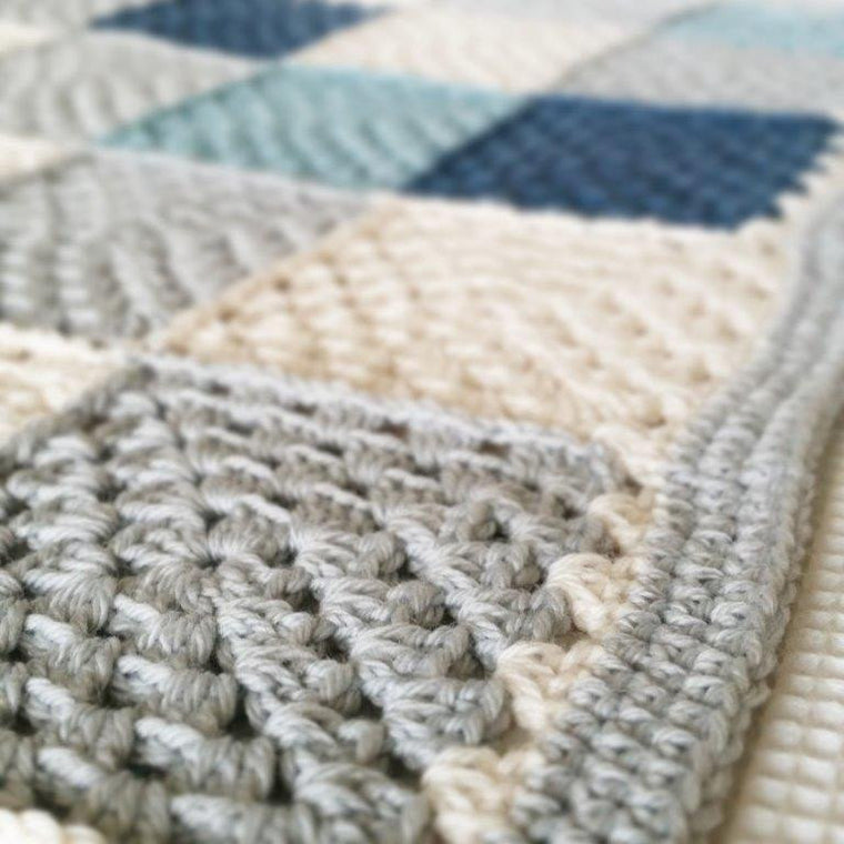 Simple Squares Blanket | The Pattern