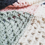 Pattern // Large Simple Squares Throw