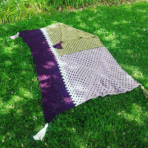 Colour Block Throw - XL Edition
