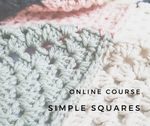 Online Course // Simple Squares Blanket