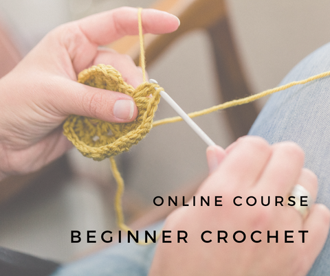 Online Course // FREE Beginner Crochet Course