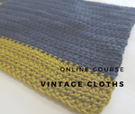 Online Course // Vintage Cloths - Crochet Edition