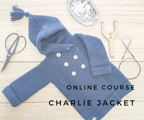 PRELAUNCH - Online Course // Charlie Jacket