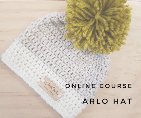 PRELAUNCH - Online Course // Arlo Hat