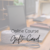 Online Course Gift Card