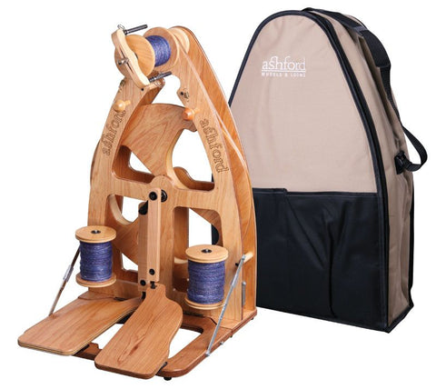 Joy 2 Spinning Wheel // Double Treadle with carry bag