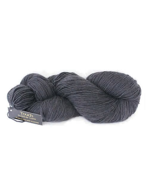 Yarn | Touch Yarns Possum Superfine 8ply -  Charcoal