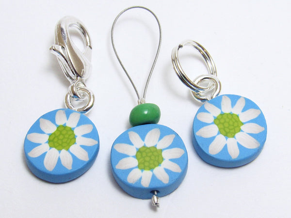 Daisy Stitch Marker Set
