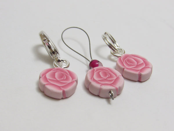 Rose Stitch Marker Set