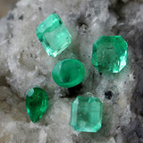 Natural Colombian Emerald - Faceted