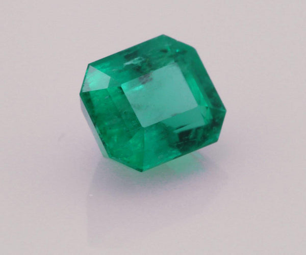Emerald cut emerald 0.87ct