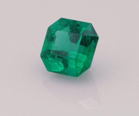 Emerald cut emerald 0.56ct