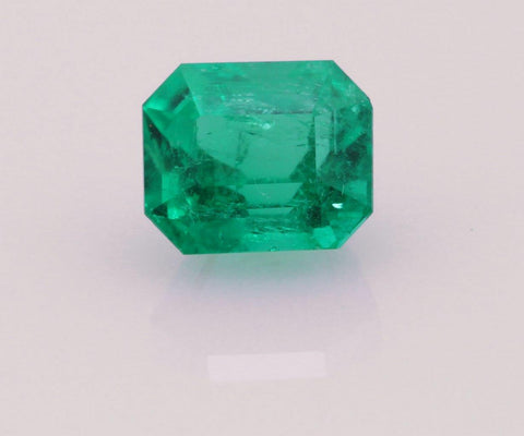 Emerald cut emerald 0.69ct