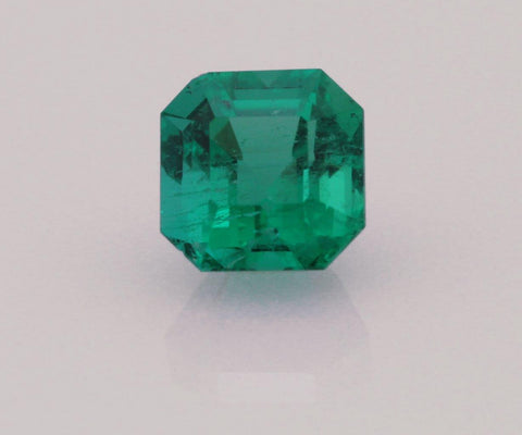 Emerald cut emerald 0.62ct