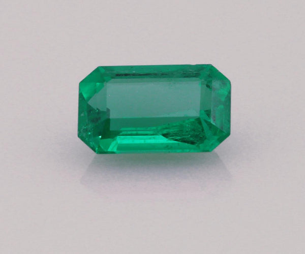 Emerald cut emerald 0.54ct