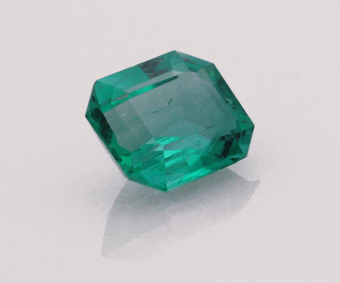 Emerald cut emerald 0.68ct