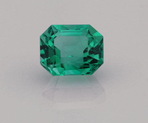 Emerald cut emerald 0.63ct