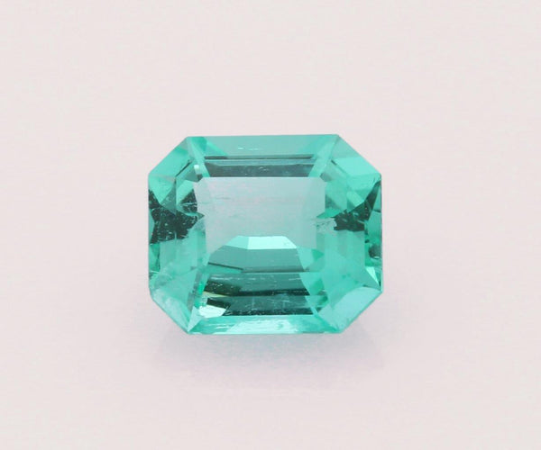 Emerald cut emerald 0.77ct