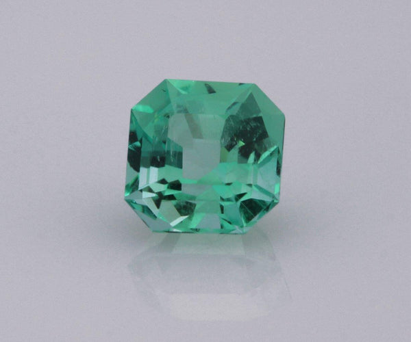 Emerald cut emerald 0.74ct