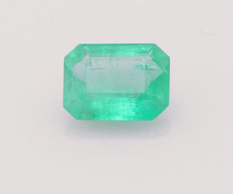 Emerald cut emerald 0.7ct