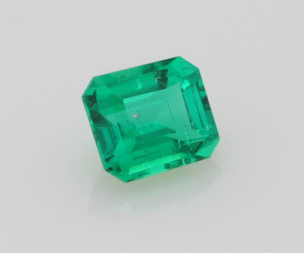 Emerald cut emerald 0.27ct