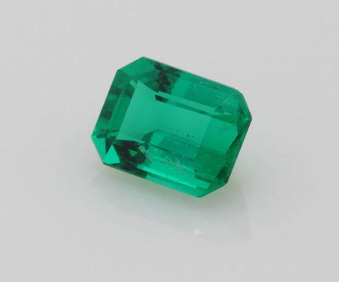Emerald cut emerald 0.65ct