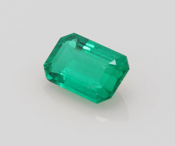 Emerald cut emerald 0.57ct