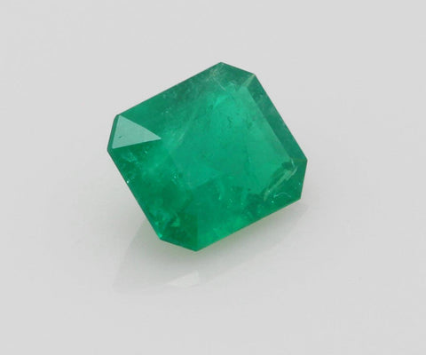 Emerald cut emerald 0.64ct
