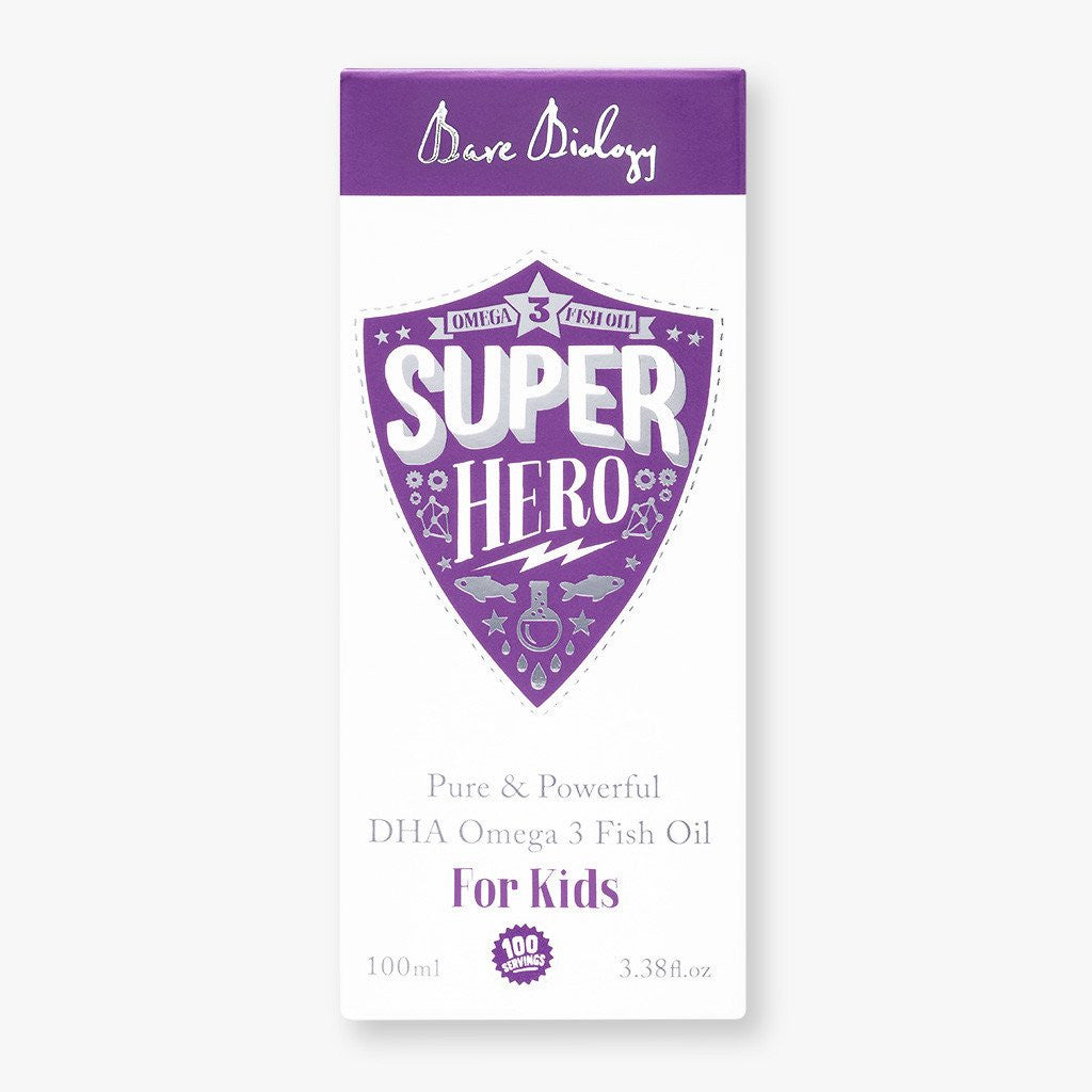 Bare Biology Super Hero for Kids (100ml)