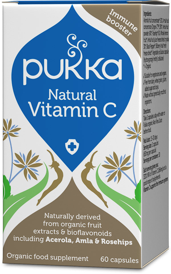 Pukka Natural Vitamin C (60 capsules)