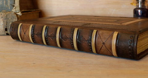 medieval style binding