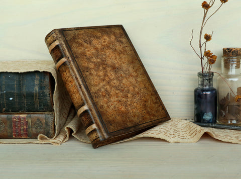 Leather Journal / Blank Book - Brown Leather, Thoughts