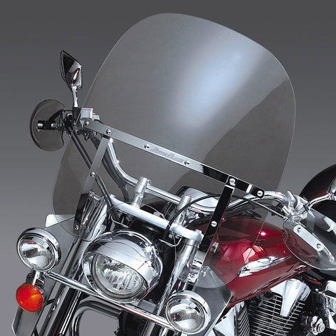 National Cycle SwitchBlade 2-Up Quick Release Windshield for Honda Shadow - Clear - N21103