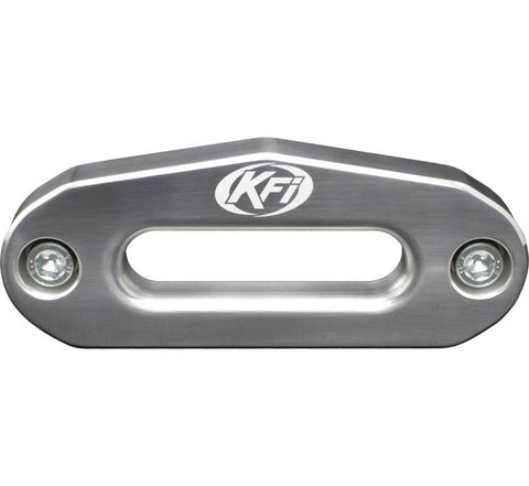 KFI Products Aluminum Hawse Fairlead - 4.875 Inch Wide Bolt Battern for ATV - Polished - ATV-HAW-POL