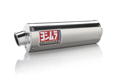 Yoshimura - 2165600-SA - RS-3 Slip-On Exhaust for 2000-17 Suzuki DR-Z400S/SM