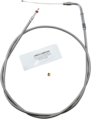 Barnett Performance Products Stainless Clear-Coated Idle Cable Standard