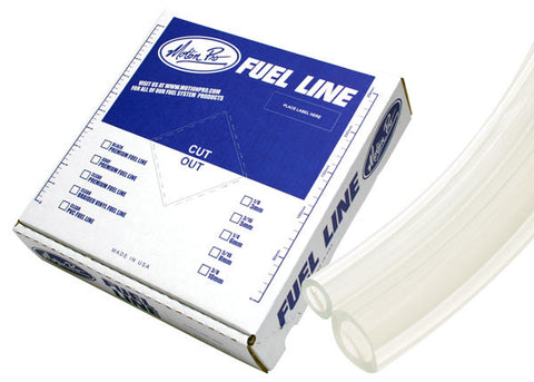 "Motion Pro Tygon Clear Premium Fuel Line  1/4""  x 25'"