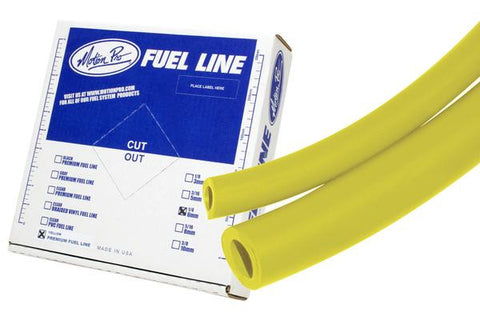 "Motion Pro Yellow Low Permeation Fuel Line 1/4""  x 25'"