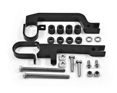 PowerMadd PowerMadd 34450 Black Sentinel Handguard Snowmobile Mount Kit - 1