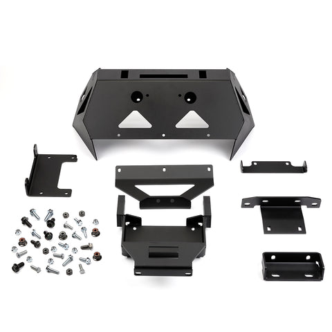 Warn Front Bumper with Winch Mount for Polaris RZR XP Turbo - 103392