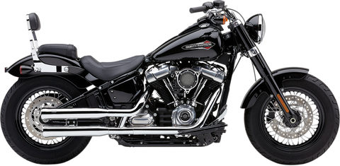 Cobra Neighbor Hater Mufflers for 2018-19 Harley Softail Models - Chrome - 6048