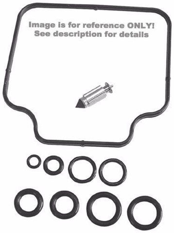 K&L Supply Carburetor Repair Kit for 1976-77 Kawasaki KZ900 Models - 18-2453